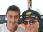Captain Green mit Moderator Roman Kilchsperger