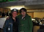 Captain Green mit Komiker Baldrian (Ex-Flügzüüg)